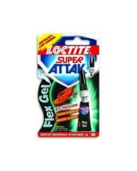 COLLA ATTAK FLEX GEL (CON GOMMA) GR3 LOCTITE