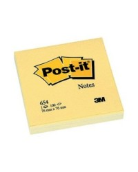 POST IT 3M 654 76X76 GIALLO