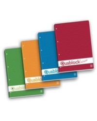 BLOCCO QUABLOCK PIGNA 21X29,7 QUADRI 4MM