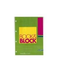 BLOCCO BOOK & BLOCK BLASETTI 15X21