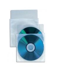 BUSTA IN PLASTICA OD 50360 PORTA CD CON PATELLA PER 2 CD