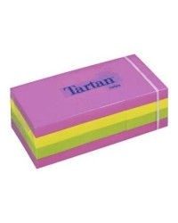 POST IT TARTAN 3M 654N 76X76 NEON COLORI ASSORTITI