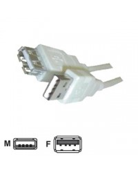CAVO USB 300CM A/A M/F (PROLUNGA)