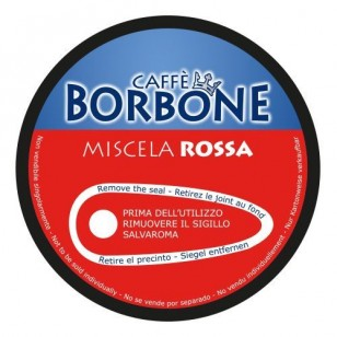 CAPSULE DOLCE GUSTO DOLCE RE BORBONE MISCELA ROSSA 90PZ.