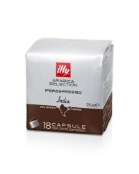 CAPSULE ILLY CAFFE INDIA 18PZ.